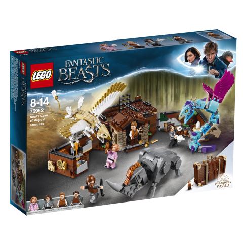 Lego Fantastics Beasts 75952 Liskon Taianomaisten Otusten Tapaus