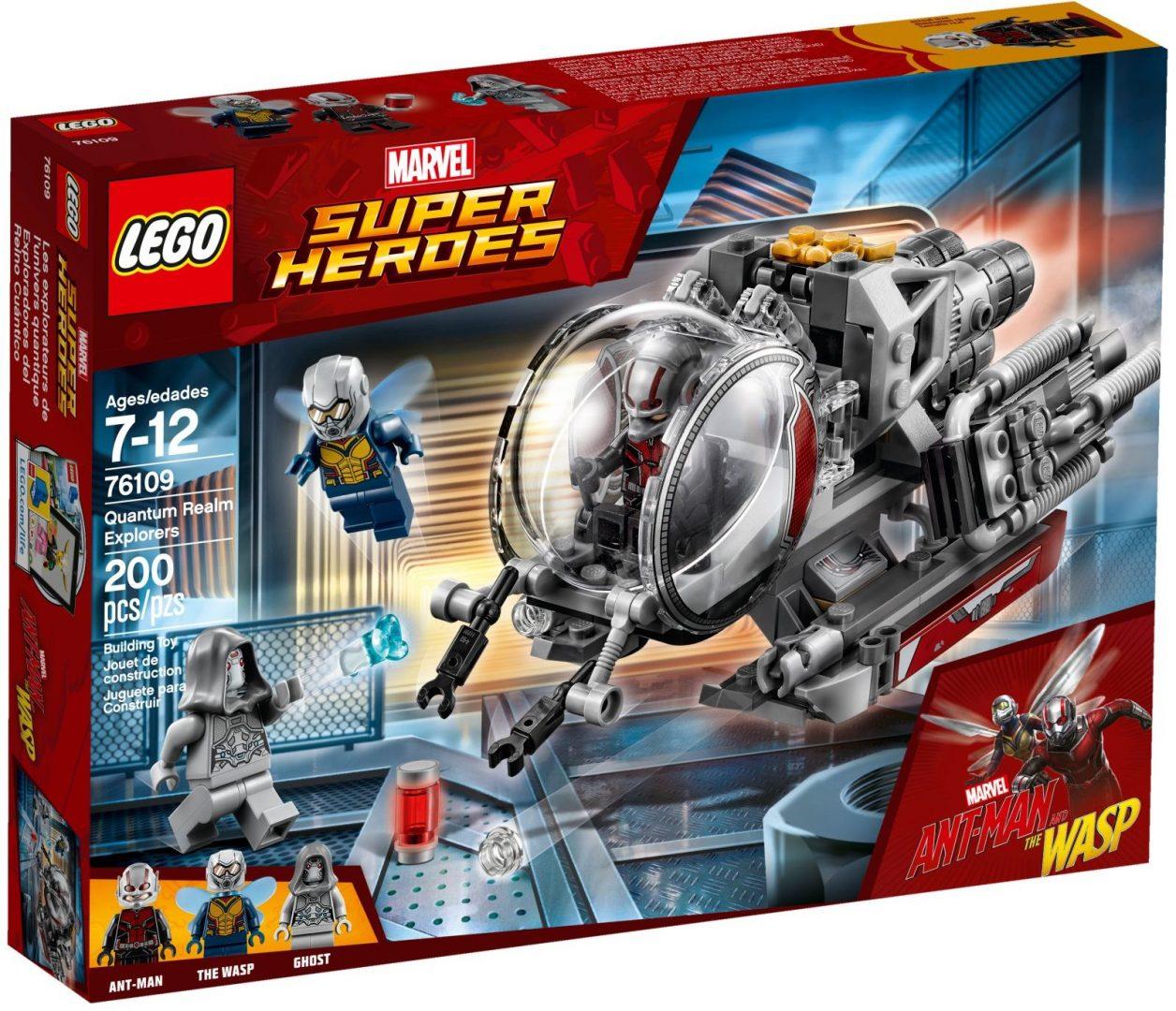 Lego Super Heroes 76109 Quantum Realm Explorers
