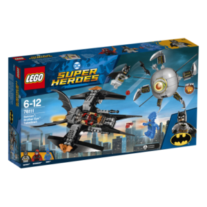 Lego Super Heroes 76111 Batman : Brother Eye Takedown