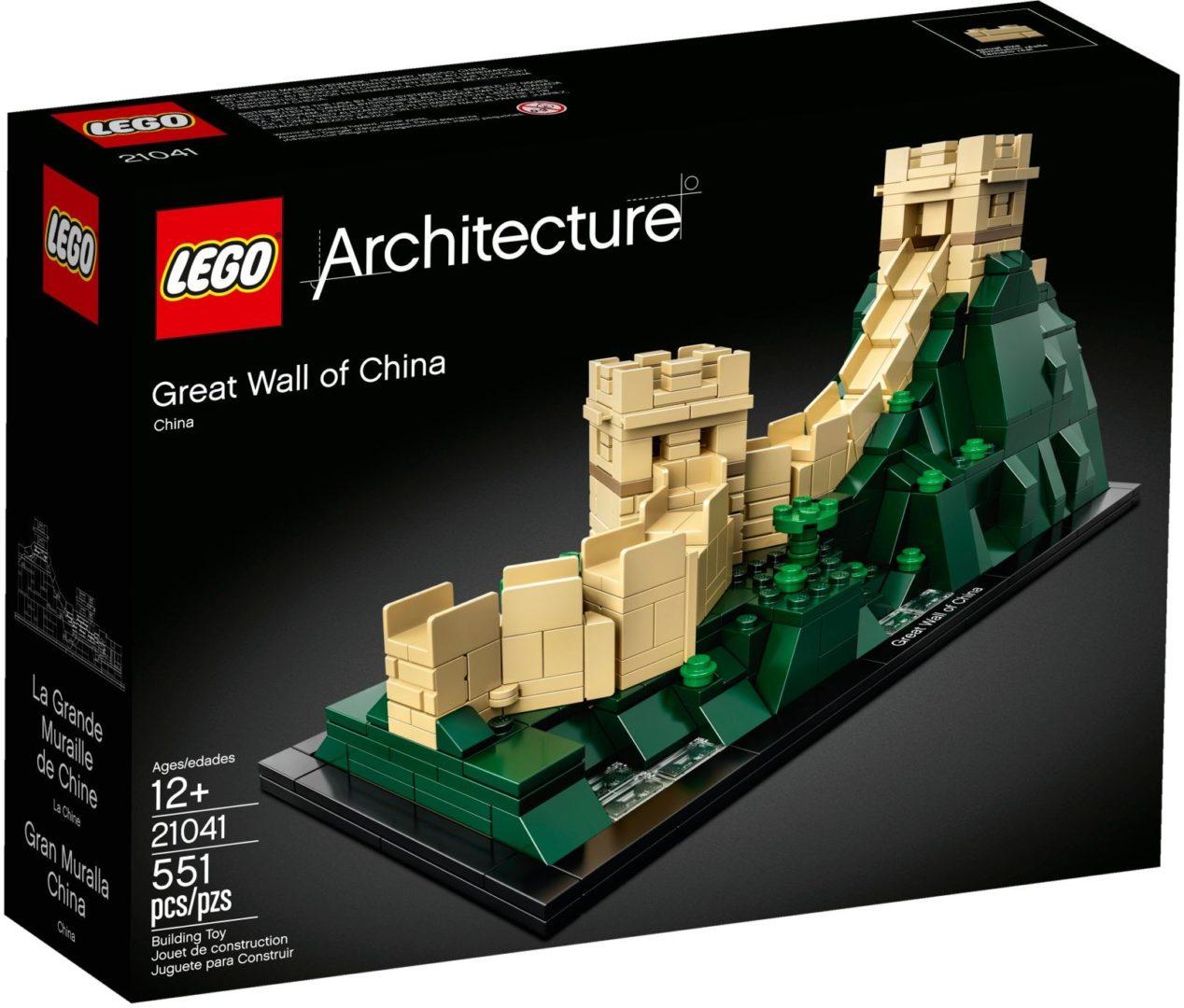 Lego Architecture 21041 Kiina Muuri