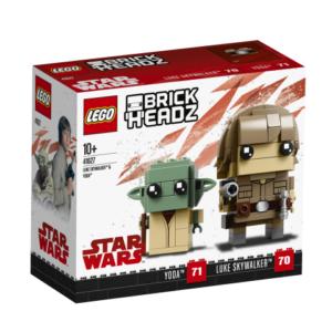 Lego BrickHeadz 41627 Luke Skywalker ja Yoda