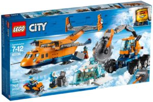 Lego City 60196 Arktinen Huoltolentokone