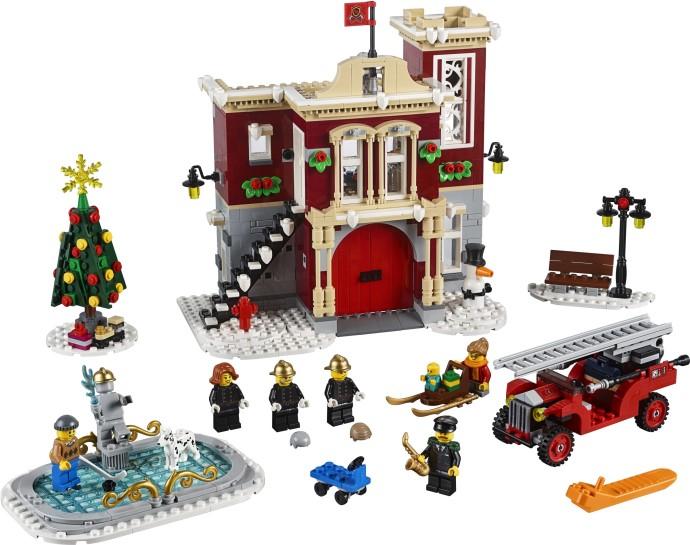 Lego Creator 10263 Talvisen Kylän Paloasema