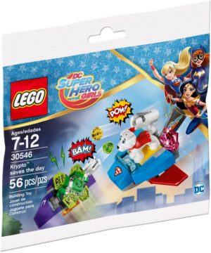 Lego DC Super Heroes Girls 30546 Krypto Saves the Day