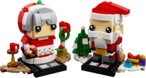 Lego BrickHeadz 40274 Mr. & Mrs. Claus