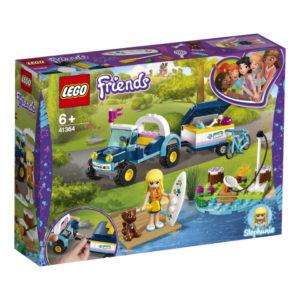 Lego Friends 41364 Stephanien auto ja Perävaunu