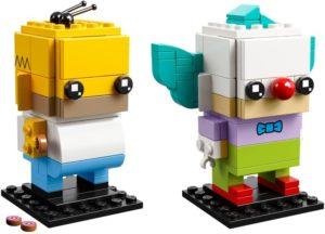 Lego BrickHeadz 41632 Homer Simpson & Krusty the Clown