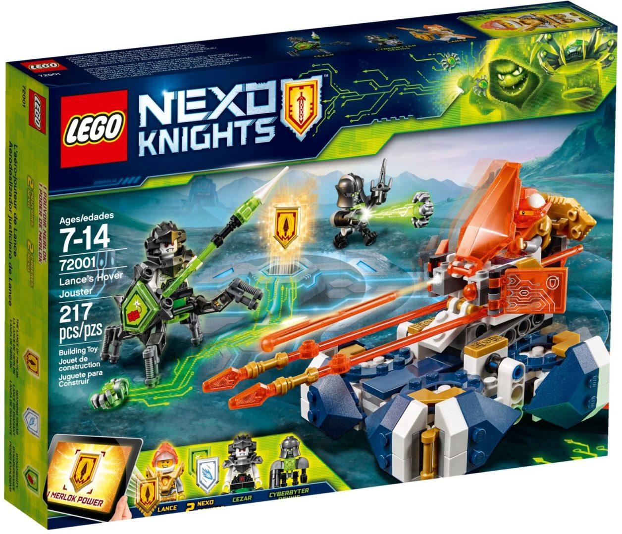 Lego Nexo Knights 72001 Lancen Leijuva Turnajaistaistelija