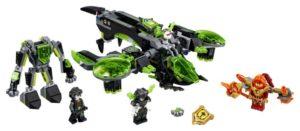 Lego Nexo Knights 72003 Raivopääpommittaja