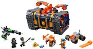 Lego Nexo Knights 72006 Axlin Liikkuva Arsenaali