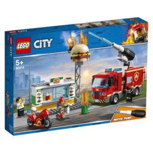 Lego City 60214 Purilaispaikan Sammutustehtävä