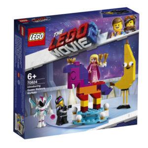 Lego Movie 2 70824 Esittelyssä Kuningatar Tahdontähdeks