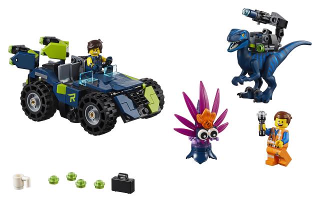 Lego Movie 2 70826 Rexin Rextreme-maasturi!