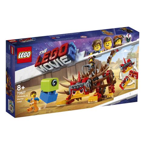 Lego Movie 2 70827 Ultrakatti ja Soturi-Lucy!