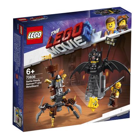 Lego Movie 2 70836 Taisteluun Valmis Batman ja Teräsparta