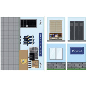 iWALLZ i8018 Tarra – Poliisiasema