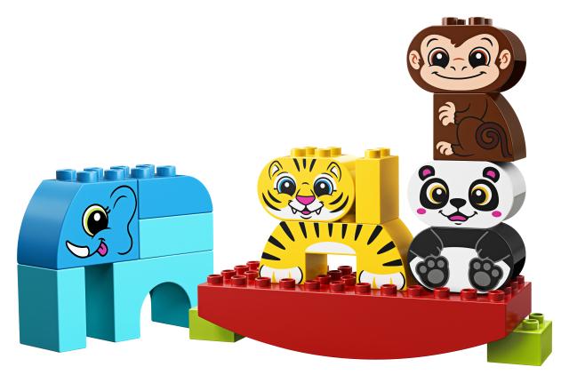 Lego Duplo 10884 Ensimmäiset Tasapainottelevat Eläimeni