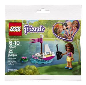 Lego Friends 30403 Olivian Kauko-ohjattava Vene