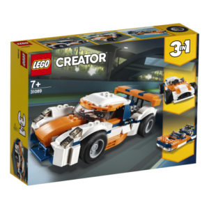 Lego Creator 31089 Auringonlaskunvärinen Rata-auto