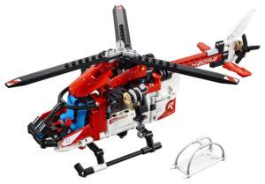 Lego Technic 42092 Pelastushelikopteri