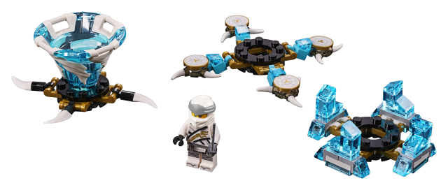 Lego Ninjago 70661 Spinjitzu-Zane