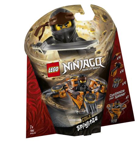 Lego Ninjago 70662 Spinjitzu-Cole