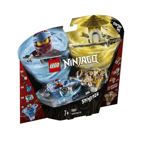 Lego Ninjago 70663 Spinjitzu-Nya ja Wu