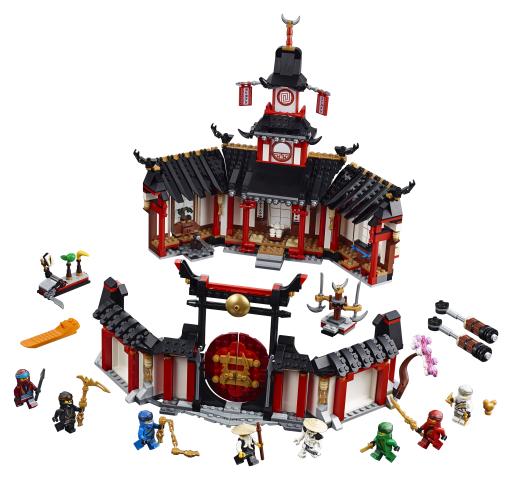 Lego Ninjago 70670 Spinjitzu-luostari