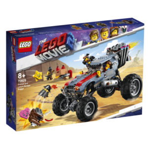 Lego Movie 2 70829 Emmetin ja Tyylilyylin Pakokärry!