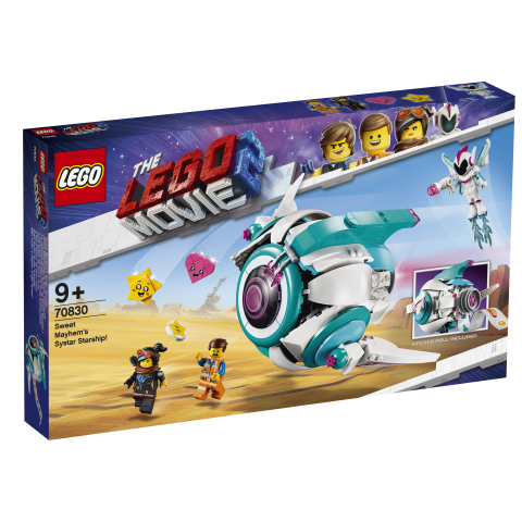 Lego Movie 2 70830 Sulosorron Systar-tähtilaiva!