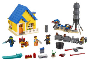 Lego Movie 2 70831 Emmetin Unelmatalo & Pelastusraketti