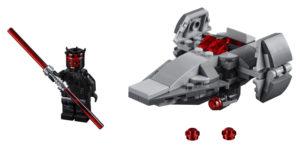 Lego Star Wars 75224 Sithsoluttautuja -Mikrohävittäjä
