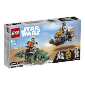 Lego Star Wars 75228 Pakokapseli Vastaan Deweback -Mikrohävittäjät