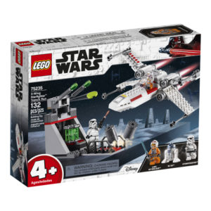 Lego Star Wars 75235 X-siipisen Tähtihävittäjän Lento Juoksuhaudoissa