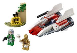 Lego Star Wars 75247 Kapinallisten A-siipinen Tähtihävittäjä