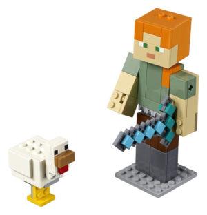 Lego Minecraft 21149 Minecraft BigFig Alex ja Kana