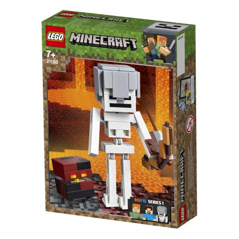 Lego Minecraft 21150 Minecraft BigFig Luuranko ja Magmakuutio