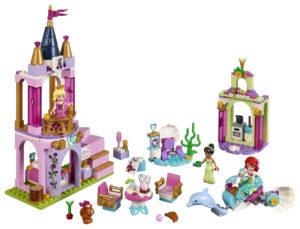 Lego Disney Princess 41162 Arielin, Auroran ja Tianan Kuninkaalliset Juhlat