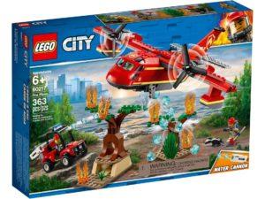 Lego City 60217 Sammutuslentokone