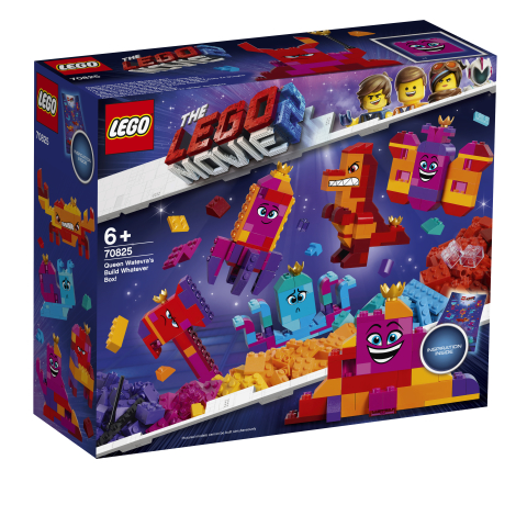 Lego Movie 2 70825 Kuningatar Tahdontähdeksin Rakennelma Mitä Vain -Laatikko!