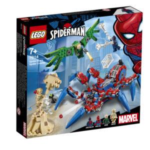 Lego Super Heroes 76114 Spider-Manin Hämähäkkimönkijä