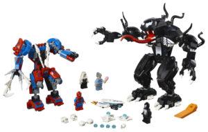 Lego Super Heroes 76115 Hämähäkkirobotti Vastaan Venom