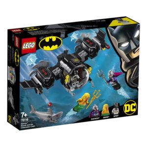 Lego Super Heroes 76116 Batmanin Lepakkosukellusvene ja Vedenalainen Yhteenotto