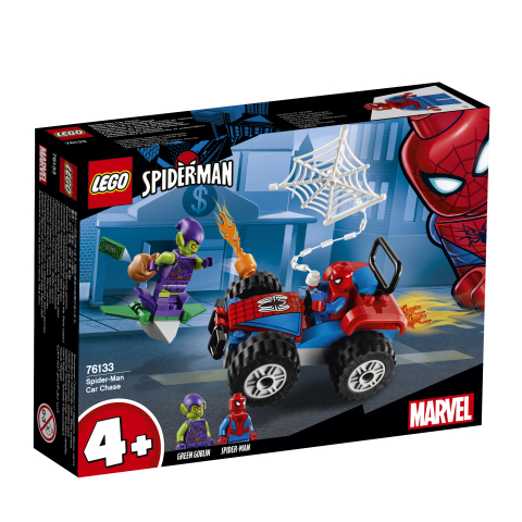 Lego Super Heroes 76133 Spider-Manin Autotakaa-ajo