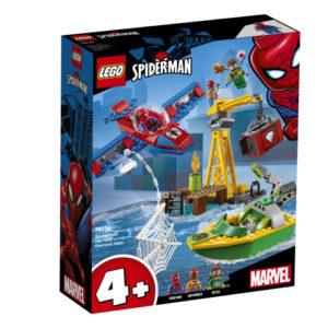 Lego Super Heroes 76134 Spider-Man: Doc Ockin Timanttiryöstö