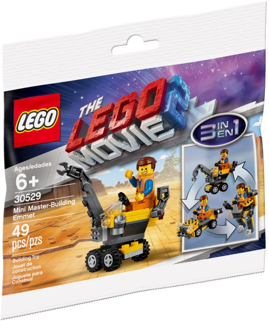 Lego Movie 2 30529 Mini Master-Building Emmet