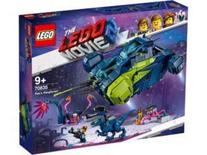 Lego Movie 2 70835 Rexin Löytörexeilijä!