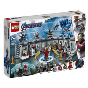Lego Super Heroes 76125 Iron Manin Haarniskahuone