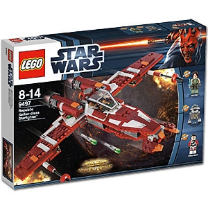 Lego Star Wars 9497 Republic Striker-Class Starfighter - Käytetty