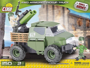 Cobi 4WD Armored Pickup Truck C2160